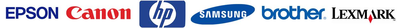 Epson Canon HP Samsung Brother Lexmark
