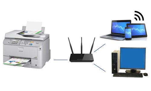 Assistenza informatica Rimini messa in rete dispositivi