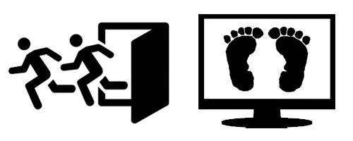 I tuoi visitatori del sito lo abbandonano se ha una grafica fatta con i piedi!