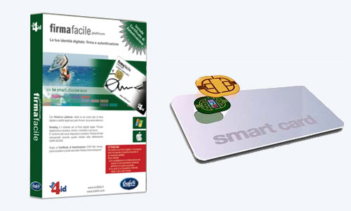 Firma digitale Buffetti Rimini con smart card