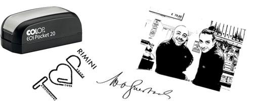 Timbri con firma, Timbri con logo, Timbri con foto