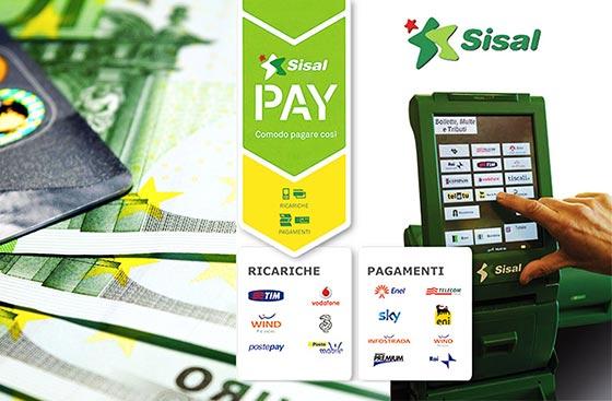 Sisal Pay, ricariche e pagamenti Rimini