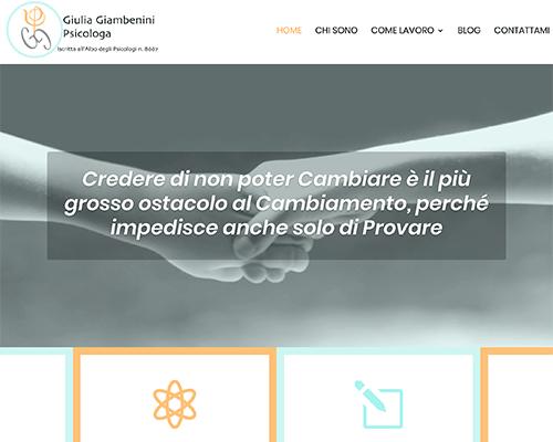Realizziamo siti web personalizzati per psicologi