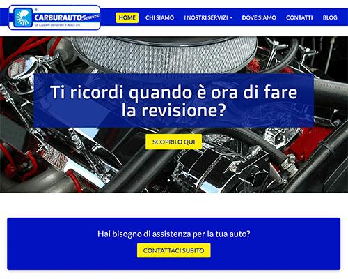 Realizziamo siti web personalizzati per officine meccaniche