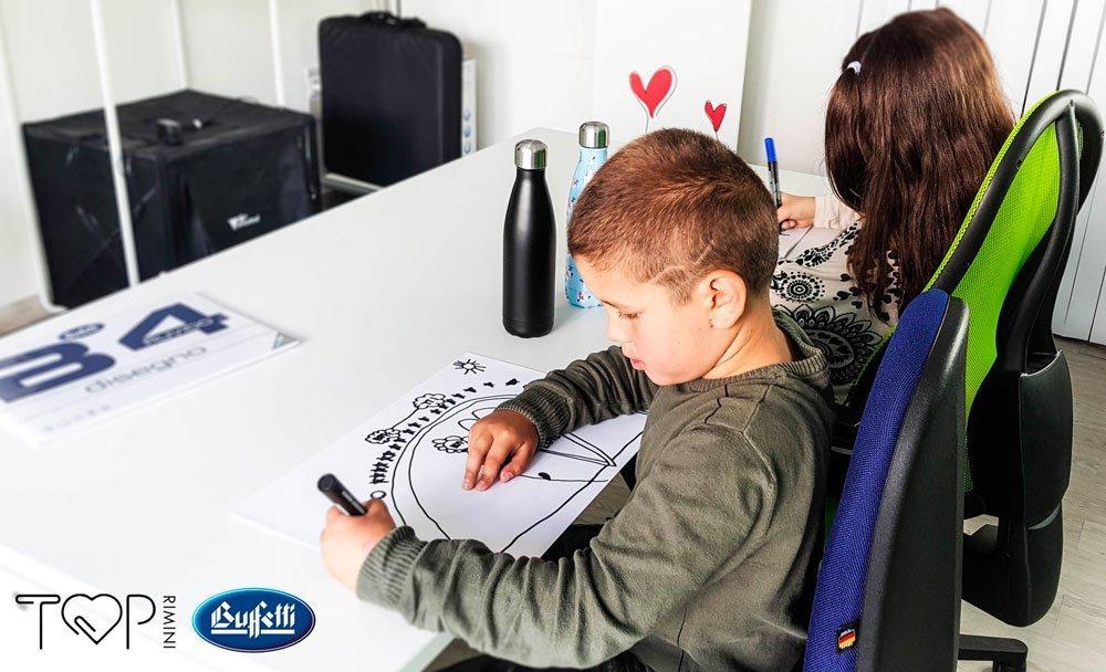 sedie ergonomiche bambini per lo studio, per la postura, per prevenire mal di schiena