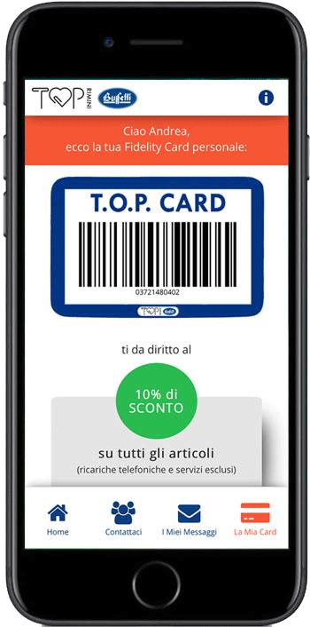 La nostra App nasce come Fidelity Card Virtuale!